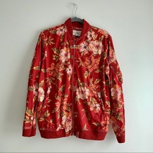 Denim & Supply Ralph Lauren • Floral Bomber Jacket